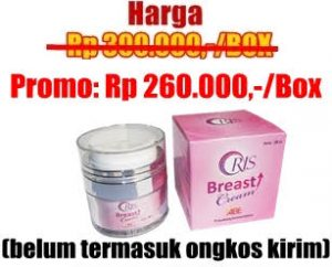 agen oris breast cream